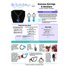 INSTRUCTIONS - Nouveau Earrings & Necklace - right hand PDF, INS-NOUVEAU-R